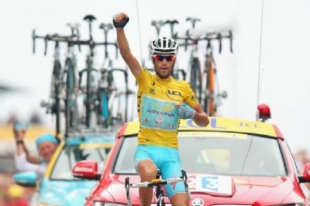 Le Roi du Tour Vincenzo Nibali senza la ì
