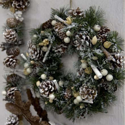 Ghirlande Di Natale.La Tradizione Della Ghirlanda Di Natale