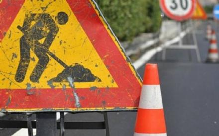 CIRIE - Lavori in corso in via Battitore: modifiche alla viabilità