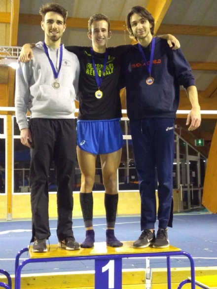 ATLETICA LEGGERA - Torna al successo Davide Favro ai Campionati piemontesi Assoluti Indoor