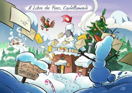 CASTELLAMONTE - E aperto fino alle feste lUfficio Postale di Babbo Natale - VIDEO
