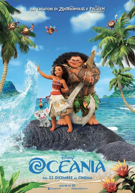 Sfida al cinema tra Oceania e Sing