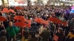 IVREA - Sardine in piazza di Città contro Salvini e la destra: «Siamo contro la deriva populista» - FOTO e VIDEO - immagine 10