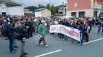 PAVONE CANAVESE - Una folla alla fiaccolata di solidarietà per Franco - FOTO E VIDEO - immagine 11