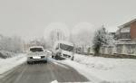 CANAVESE - Incidenti stradali a raffica a causa di neve e ghiaccio. Tangenziale di Torino in tilt per uno scontro tra furgoni - FOTO - immagine 1