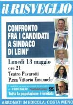 ELEZIONI LEINI - Questa sera il confronto tra i candidati a sindaco - immagine 1