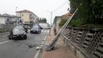 RIVAROLO CANAVESE - Incidente stradale, auto abbatte un palo della luce: un ferito - FOTO E VIDEO - immagine 7