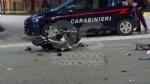 LOMBARDORE - Auto contro moto, ferito un sedicenne di Leini. Sulla vettura una donna positiva allalcoltest - FOTO - immagine 1