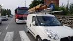 RIVAROLO CANAVESE - Incidente stradale, auto abbatte un palo della luce: un ferito - FOTO E VIDEO - immagine 8