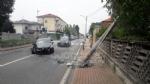RIVAROLO CANAVESE - Incidente stradale, auto abbatte un palo della luce: un ferito - FOTO E VIDEO - immagine 9
