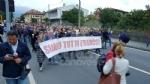 PAVONE CANAVESE - Una folla alla fiaccolata di solidarietà per Franco - FOTO E VIDEO - immagine 4