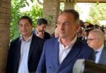SAN GIUSTO CANAVESE - Il ricordo di Paolo Borsellino e delle vittime della mafia davanti alla villa confiscata al boss Assisi - immagine 4