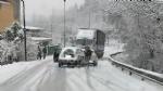 CANAVESE - Incidenti stradali a raffica a causa di neve e ghiaccio. Tangenziale di Torino in tilt per uno scontro tra furgoni - FOTO - immagine 5
