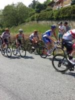 GIRO DITALIA A CERESOLE REALE - Lemozione della corsa in 50 scatti da tutto il Canavese - FOTO - immagine 17