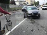 RIVAROLO CANAVESE - Incidente stradale, auto abbatte un palo della luce: un ferito - FOTO E VIDEO - immagine 5