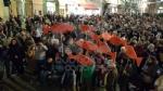 IVREA - Sardine in piazza di Città contro Salvini e la destra: «Siamo contro la deriva populista» - FOTO e VIDEO - immagine 6