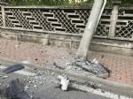 RIVAROLO CANAVESE - Incidente stradale, auto abbatte un palo della luce: un ferito - FOTO E VIDEO - immagine 6