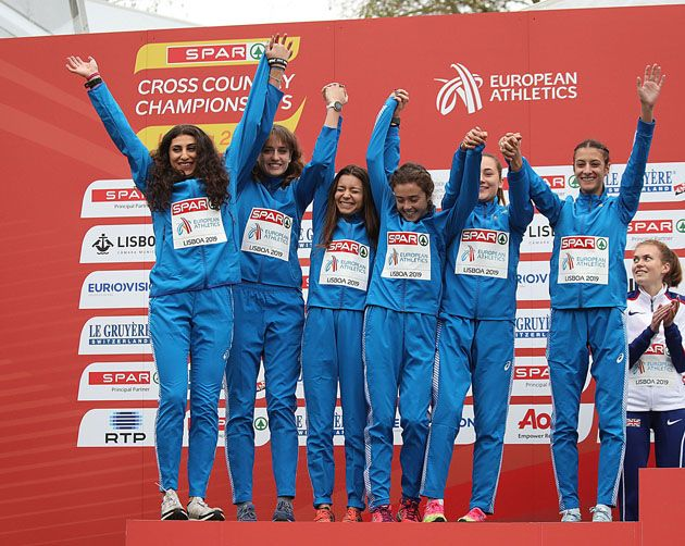 ATLETICA LEGGERA - Giada Licandro dell'Atletica Canavesana ottiene l'argento a squadre a Lisbona