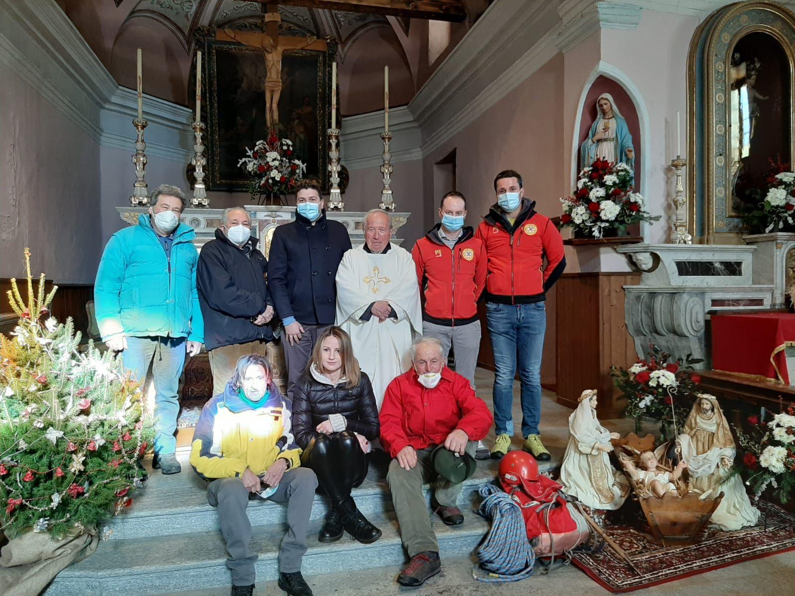 CERESOLE REALE - Celebrati i 64 anni di attività della stazione del Soccorso Alpino