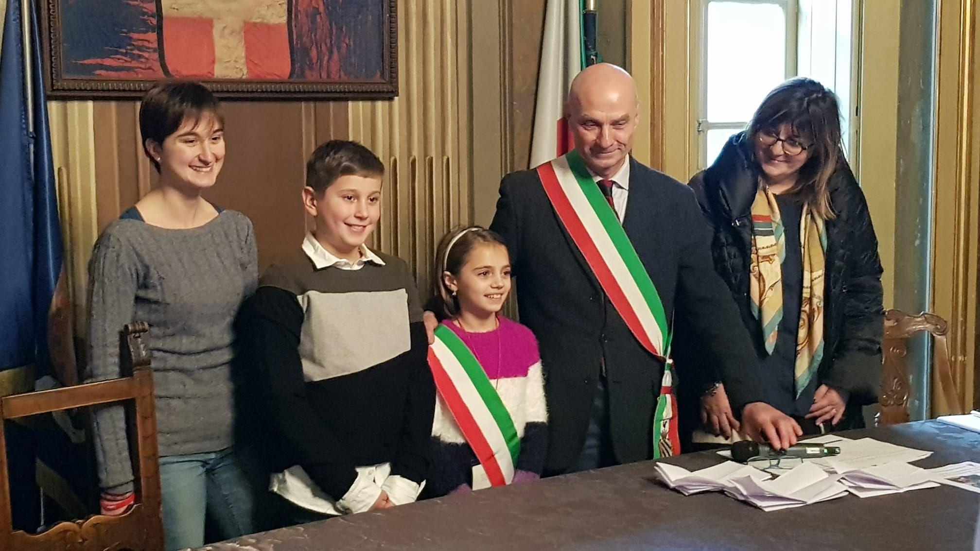 RIVAROLO - Consiglio dei ragazzi: il nuovo sindaco è di Argentera - FOTO e VIDEO