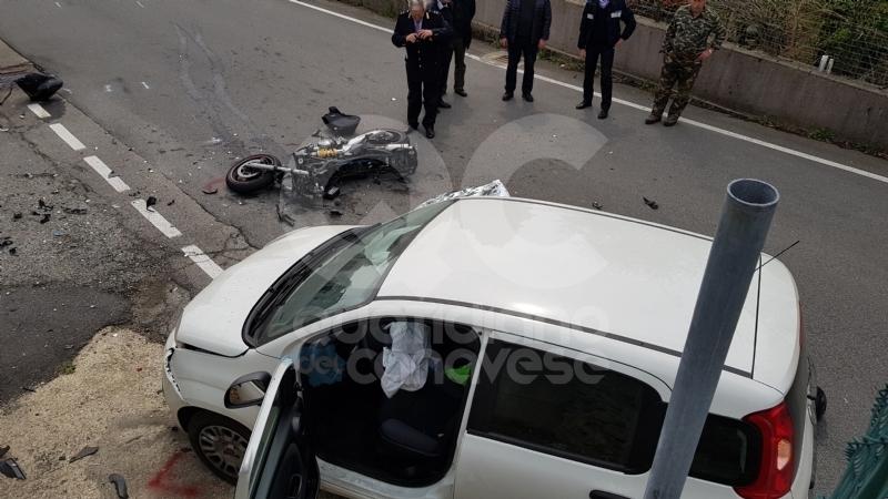 FORNO CANAVESE - Pratiglione piange Manuel, morto ad appena 23 anni in sella alla sua moto - FOTO e VIDEO