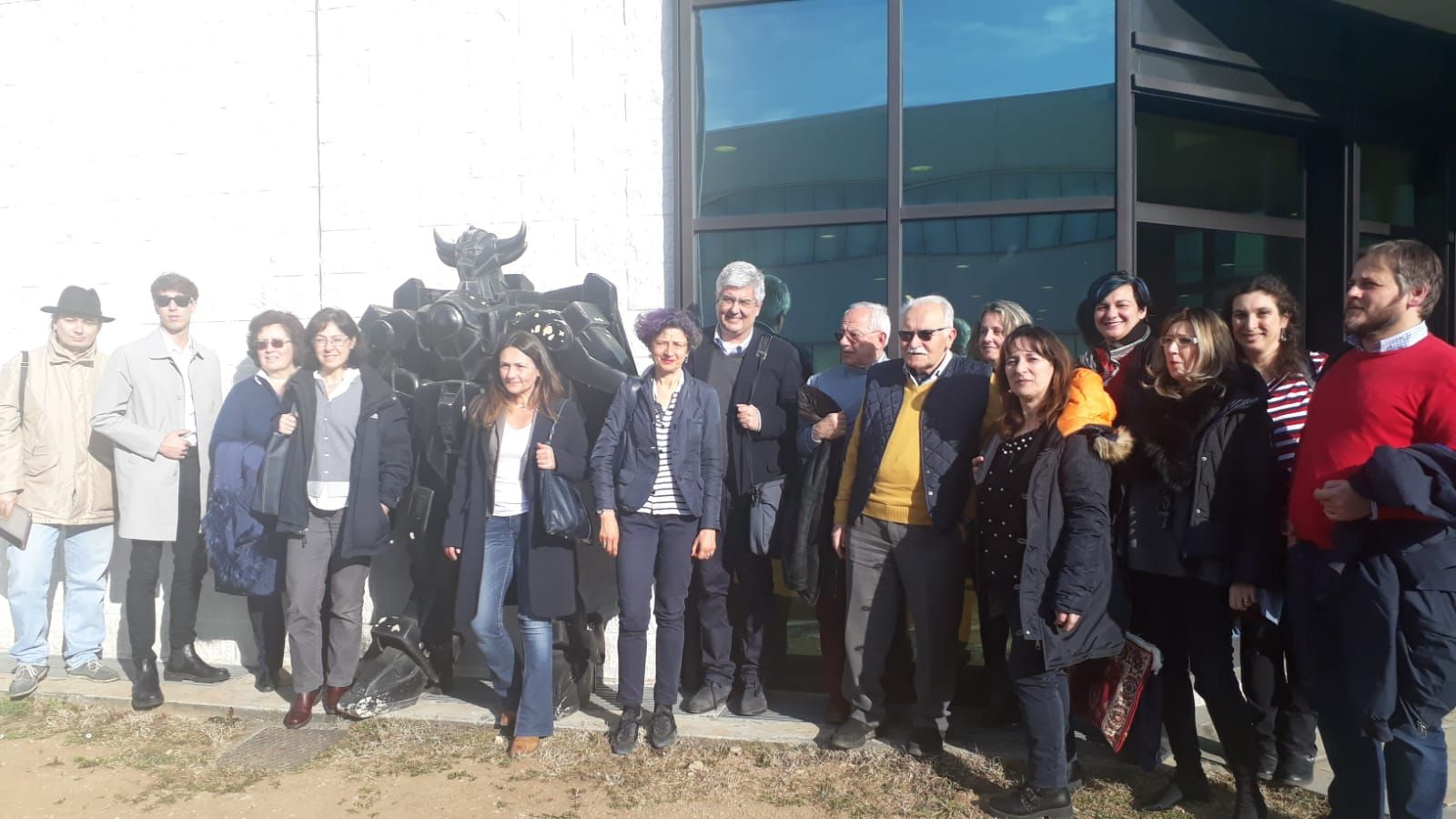 BALDISSERO - Insegnanti e presidi in visita alla Space 2000 - FOTO