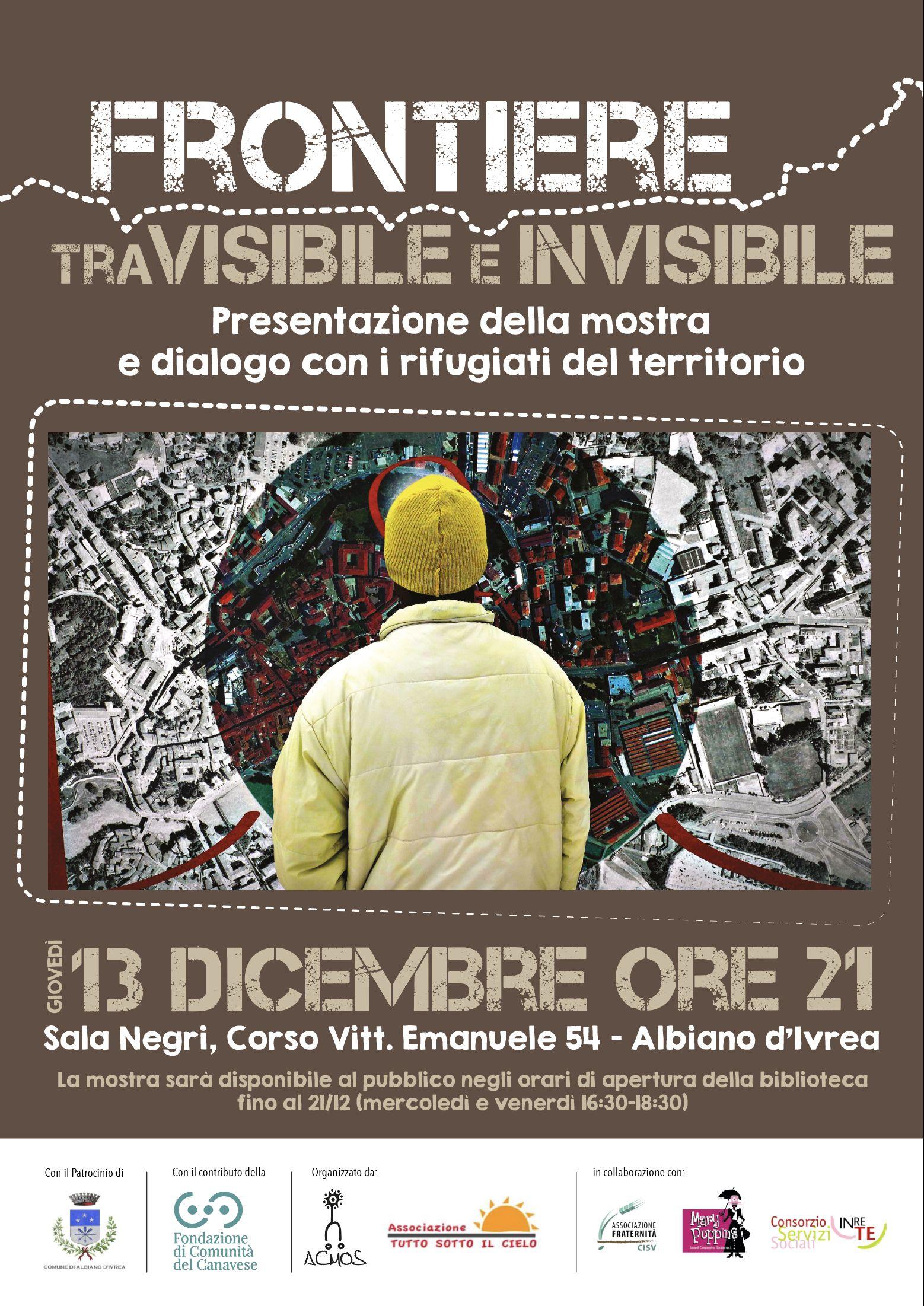 ALBIANO D'IVREA - Tutto pronto per la mostra fotografica «Frontiere tra visibile e invisibile»