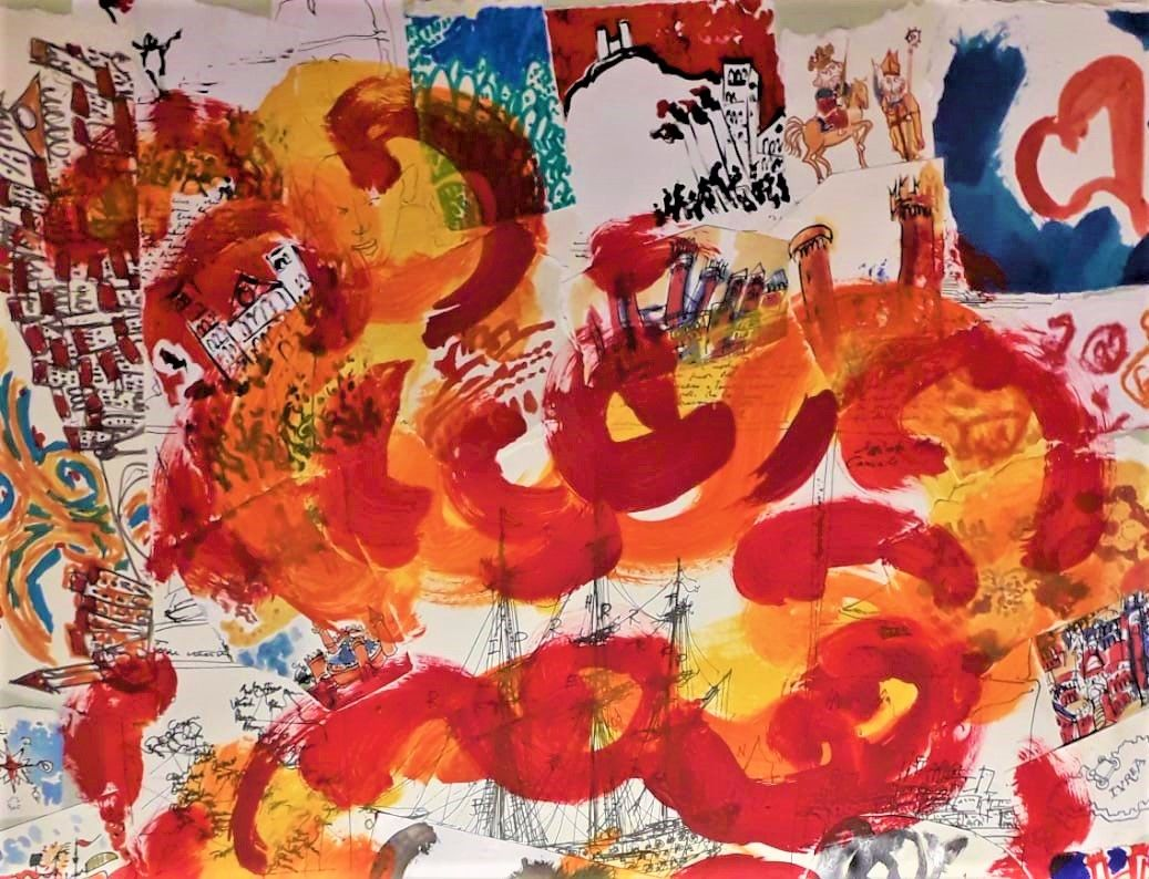 IVREA - Carnevale: «Quante idee ti vengono davanti a uno Scarlo?»