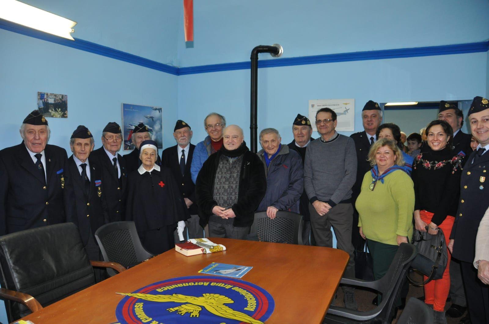 ALBIANO D'IVREA - Sede nuova per l'Associazione Arma Aeronautica