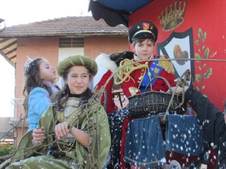 SALASSA - Grande successo per il carnevale 2015 - FOTO