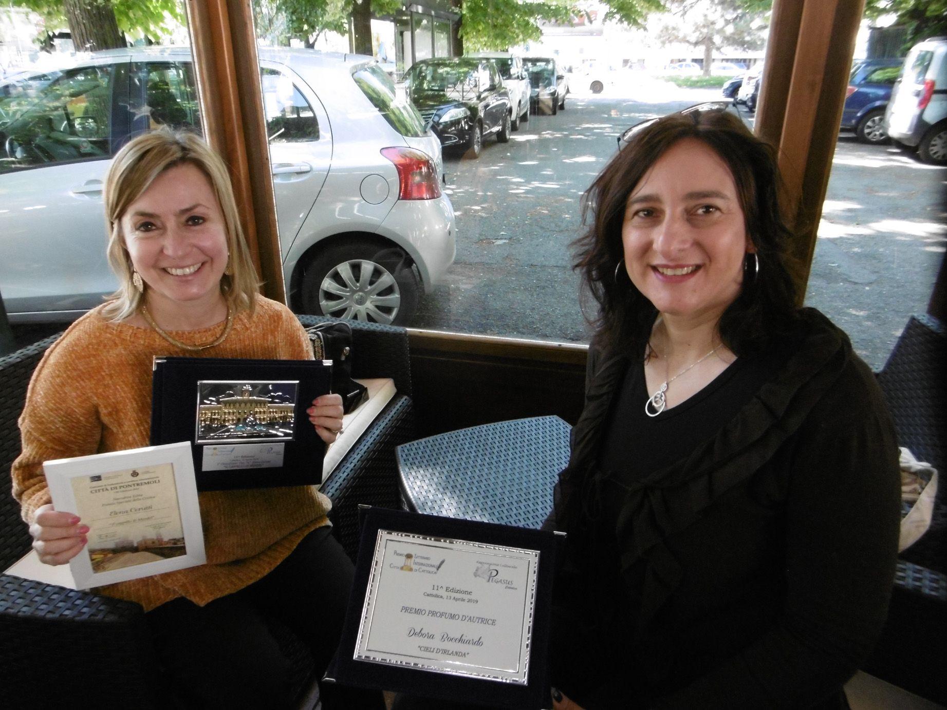 CANAVESE - Premiate le scrittrici Elena Cerutti e Debora Bocchiardo