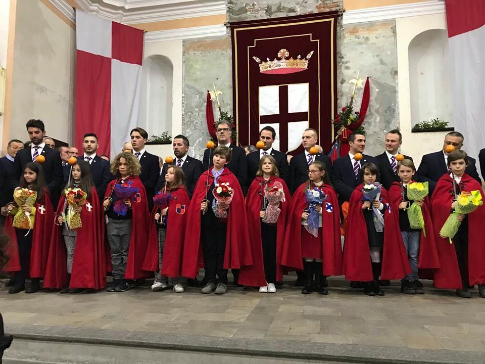 IVREA - Presentati gli Abbà al Generale e allo Stato Maggiore