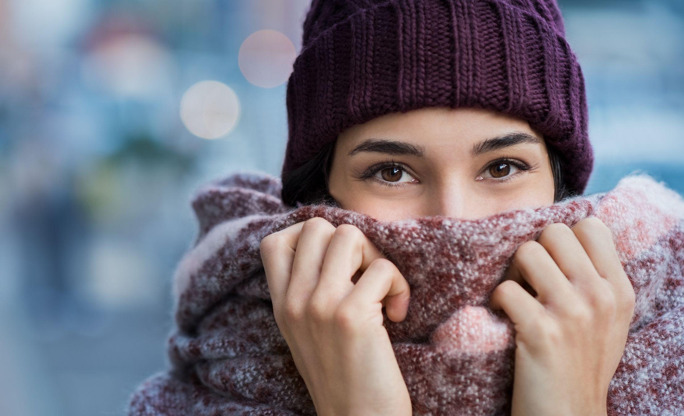 INVERNO - La sciarpa che si riscalda