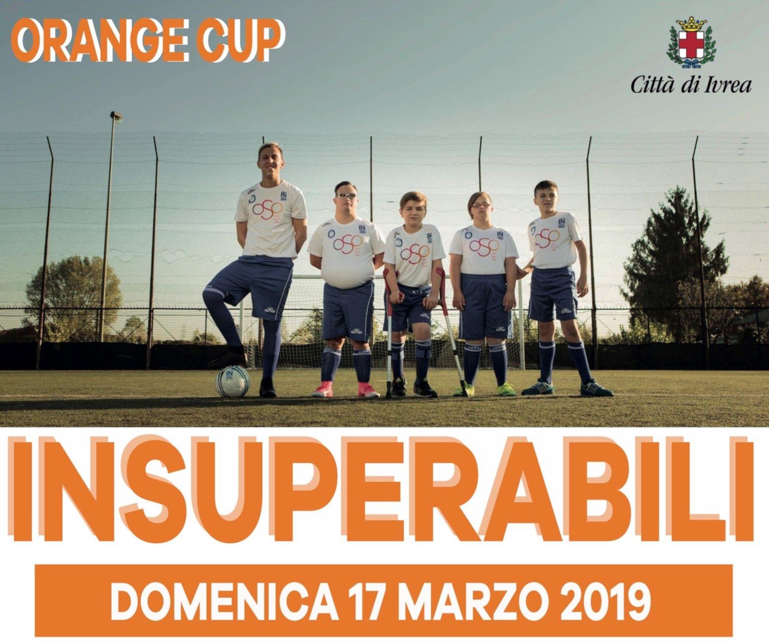 CALCIO - Domenica l'Orange Cup per l'associazione «Insuperabili Onlus»