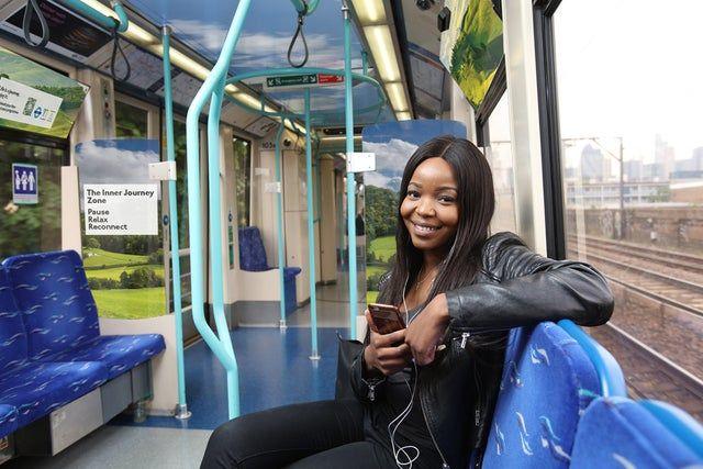 SALUTE - A Londra i primi treni antistress per pendolari