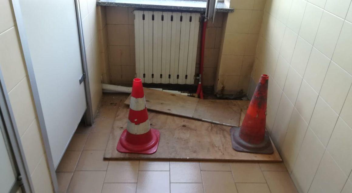 CASELLE - Allarme del sindacato: «Il distaccamento dei vigili del fuoco in aeroporto sta cadendo a pezzi»