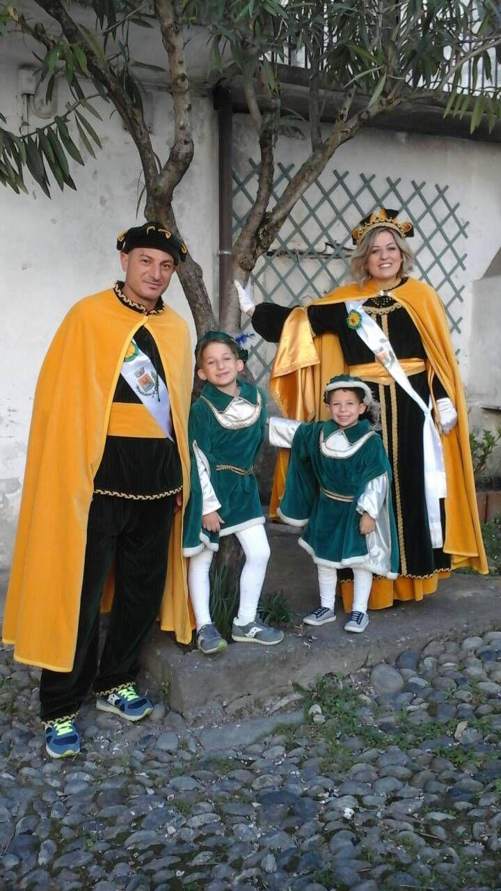 BANCHETTE - Marianna e Salvatore sono Cossatera e Cossatè del Carnevale 2019