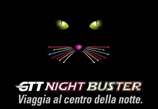NIGHT BUSTER - Bus di notte per Mappano, Leini, Borgaro, Caselle e Volpiano