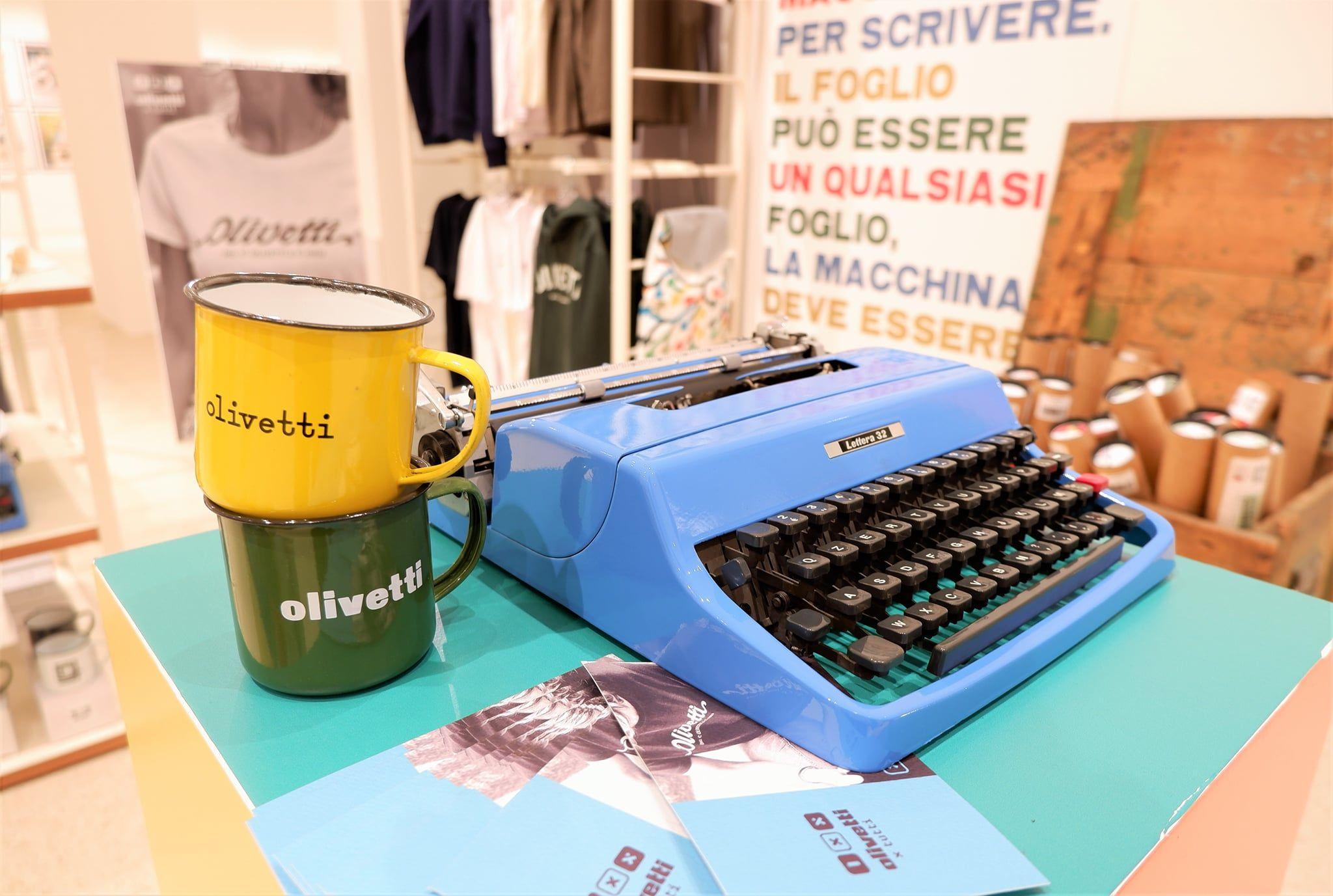 OLIVETTI - Alla Rinascente di Torino in mostra oltre 100 anni di innovazione e design Made in Canavese - FOTO