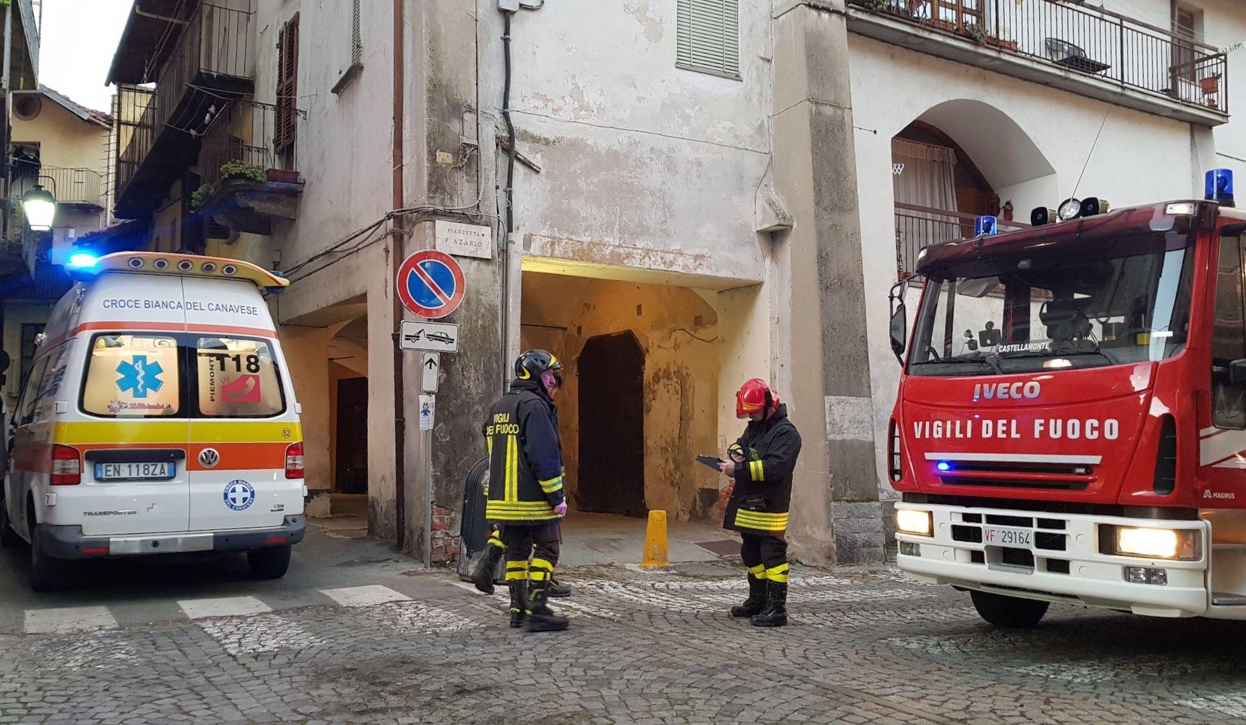 CUORGNÈ - Due ragazzi intossicati dal monossido di carbonio - VIDEO