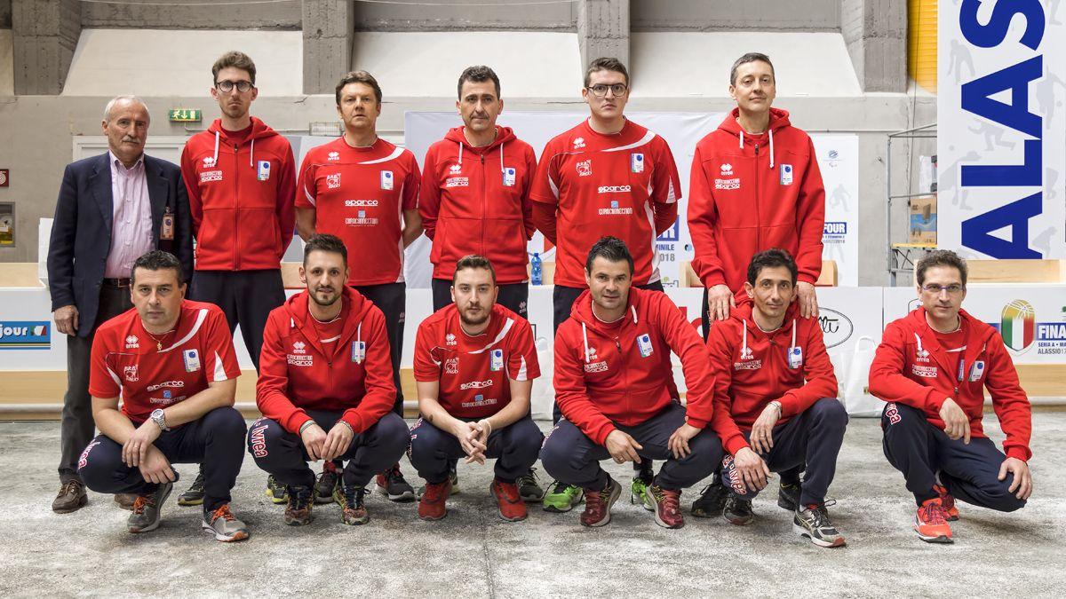 BOCCE - Campionato Italiano volo: sabato inizia la serie A