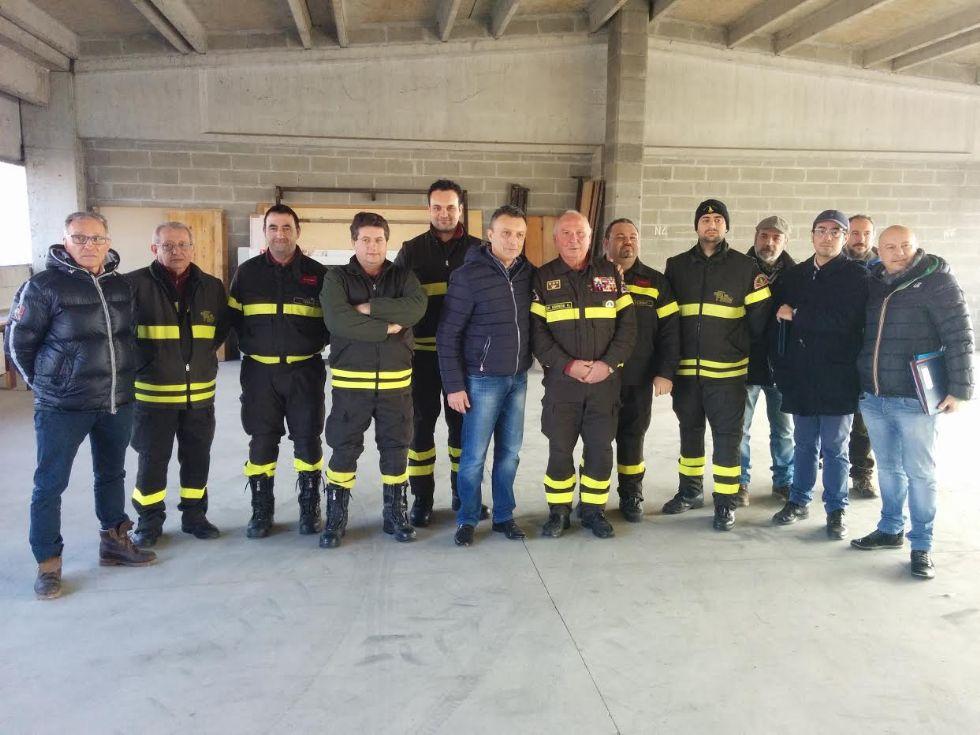 CASTELLAMONTE - Partono i lavori per la caserma dei pompieri