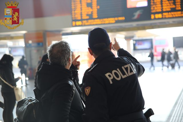 SICUREZZA - Il bilancio della Polizia Ferroviaria parla di 59 arresti e 671 denunce