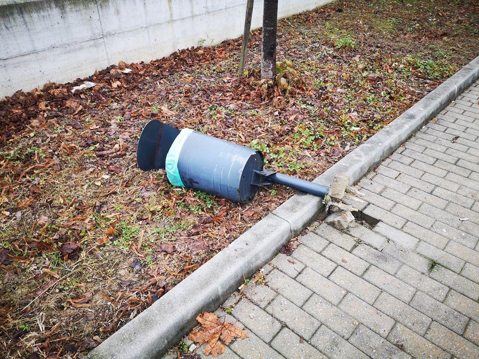 BORGARO - Vandali: indagini in corso per individuare gli idioti
