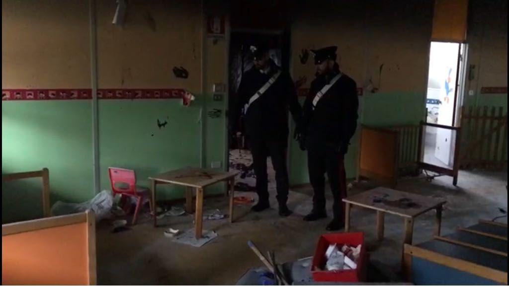 MAPPANO - Denunciati dai carabinieri 4 vandali per i danni all'ex asilo nel luglio del 2017