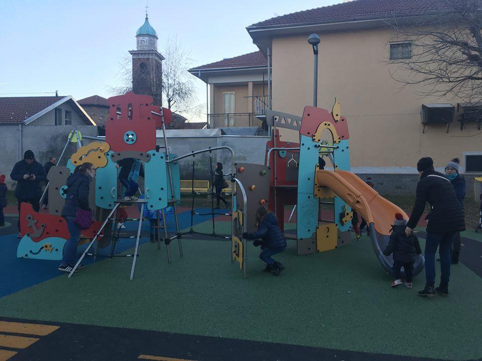 CIRIE' - Inaugurato il rinnovato parco giochi di via Braccini