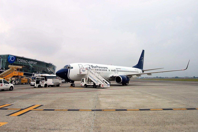 CASELLE - Partito il nuovo volo Torino-Roma di Blue Panorama
