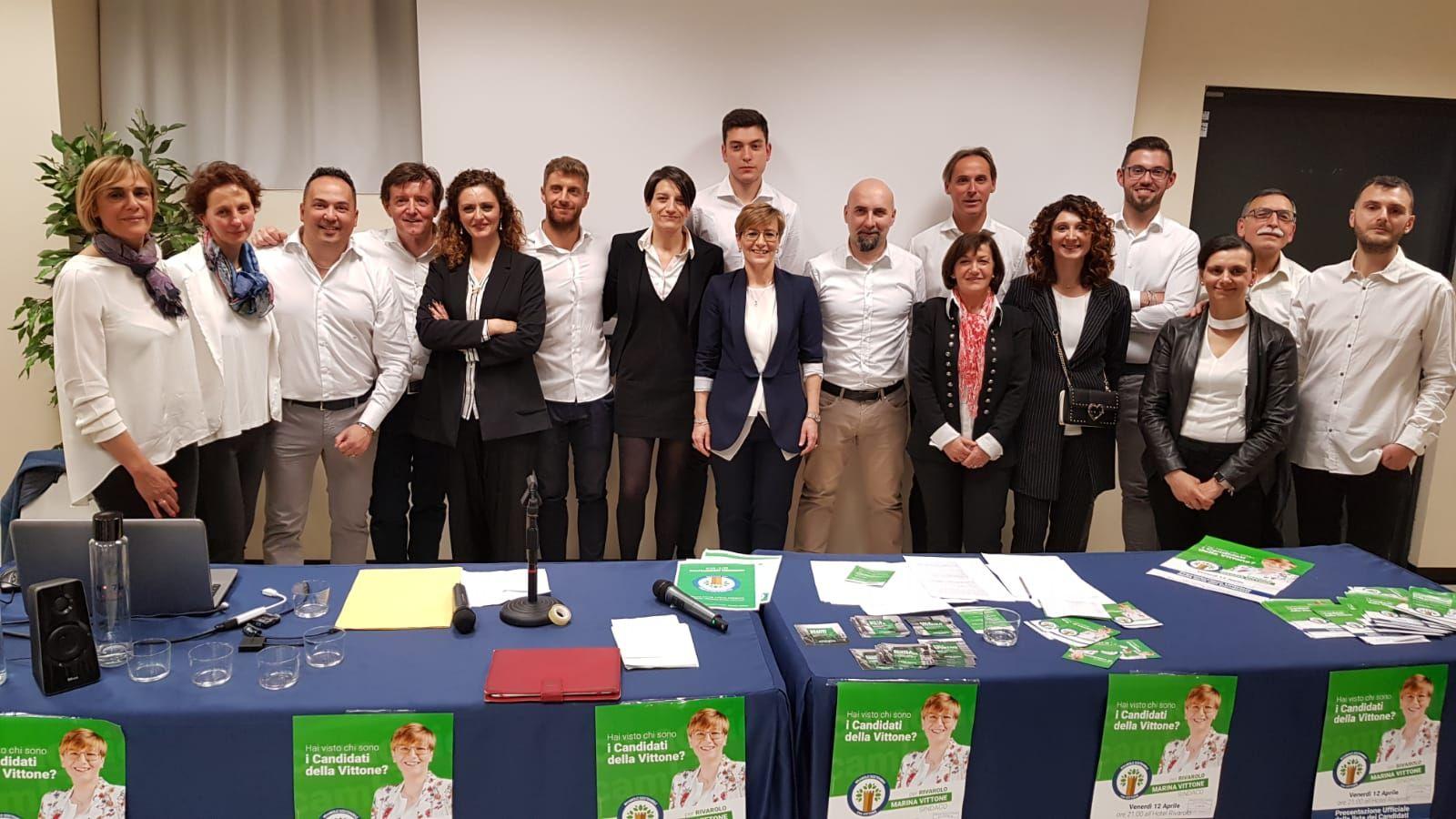 ELEZIONI RIVAROLO - Marina Vittone presenta la sua squadra: «Tante competenze al servizio della città» - FOTO