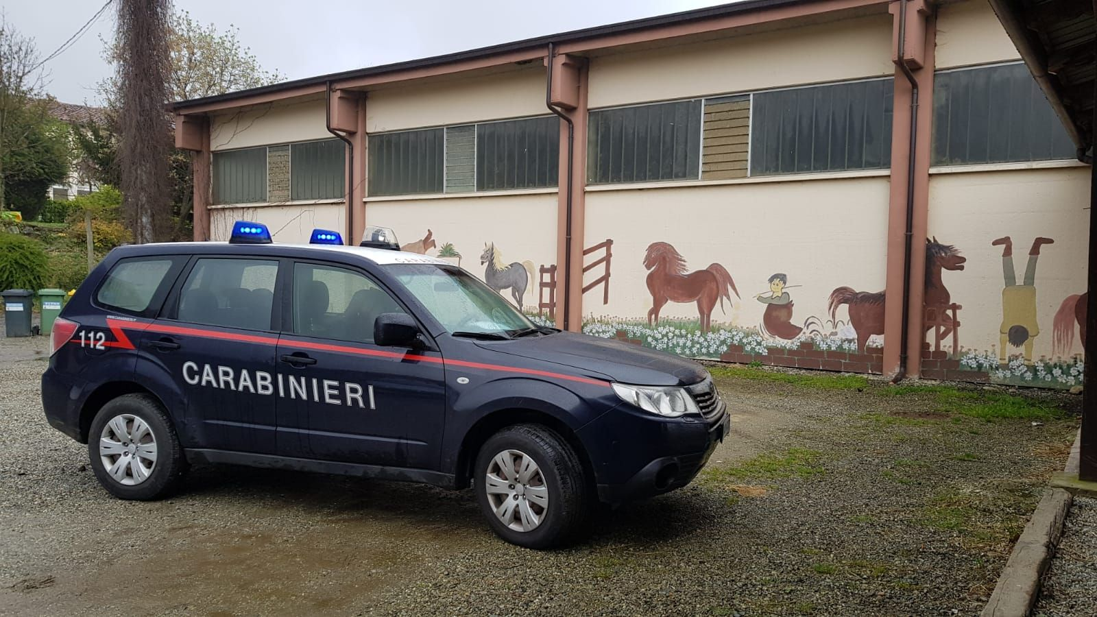 COLLERETTO CASTELNUOVO - Sfratto al maneggio: 12 cavalli bloccati dentro le stalle senza cibo - FOTO
