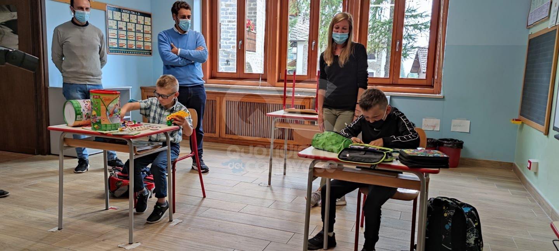 CERESOLE REALE - Raffaele e Guglielmo sono i due alunni della scuola più piccola d'Italia - FOTO